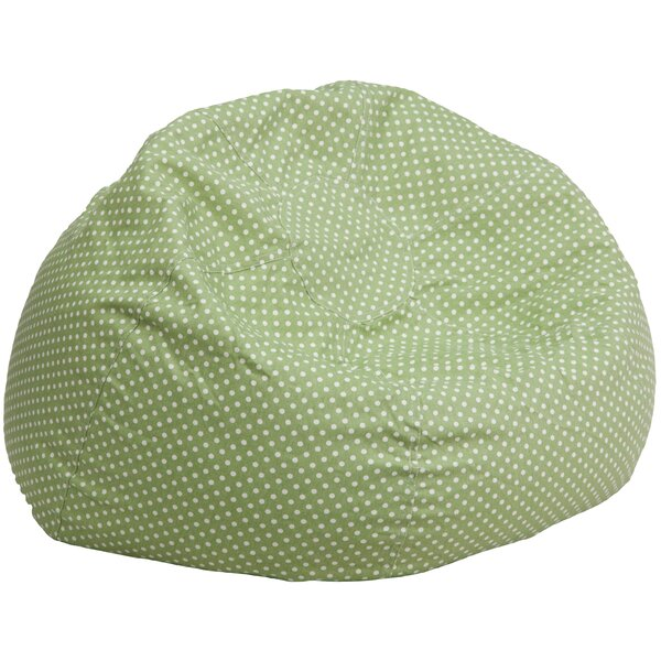 Large 100% Cotton Classic Bean Bag By Flash Furniture